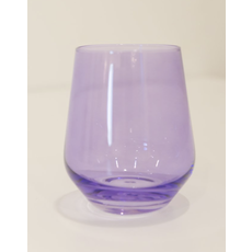 Estelle ESTELLE COLORED WINE STEMLESS - SET OF 6 {LAVENDER}