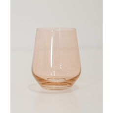 Estelle ESTELLE COLORED WINE STEMLESS - SET OF 6 {BLUSHED PINK}