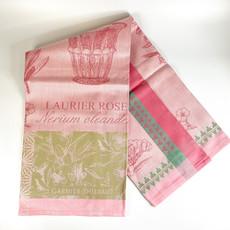 Garnier Thiebaut 'LAURIER EN POT ROSE Kitchen Towel 22''''x30'''', 56cmx77cm, 100% Cotton''