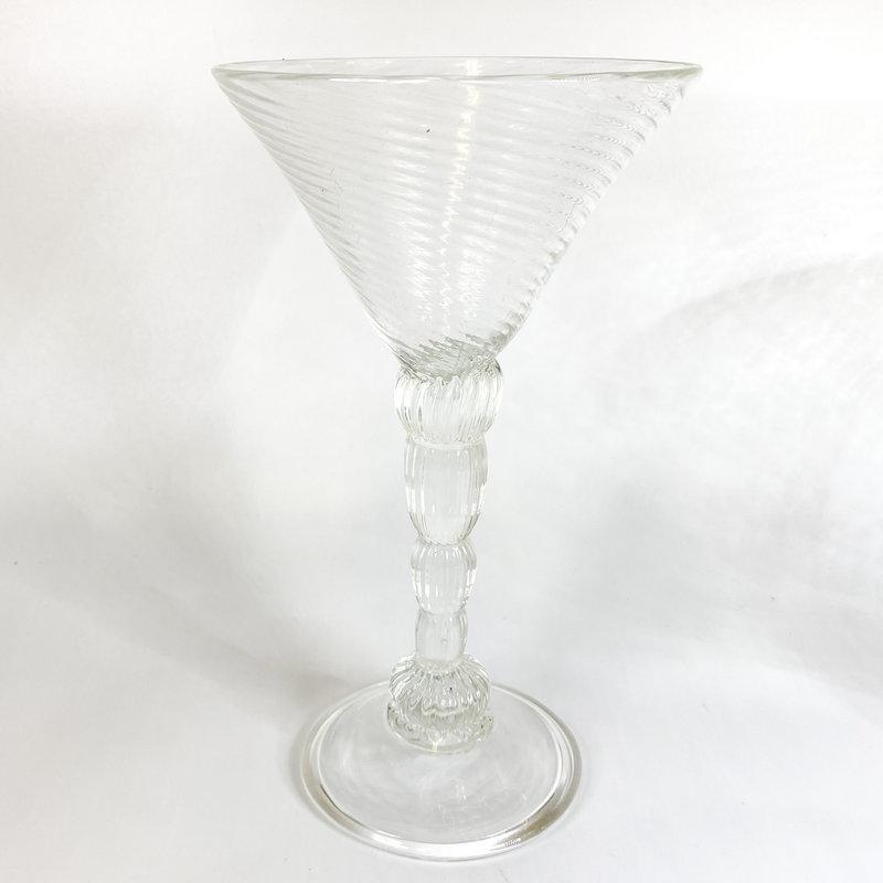 Ridge Walker Glass Ridge Walker Clear Tall Martini Glass A