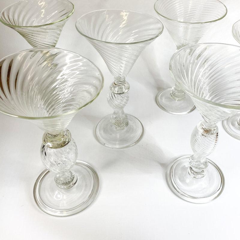 Ridge Walker Glass Ridge Walker Clear Tall Martini Glass C