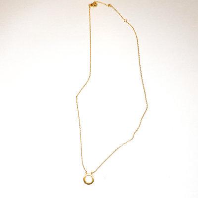 Laura McClendon Petite Circle Necklace