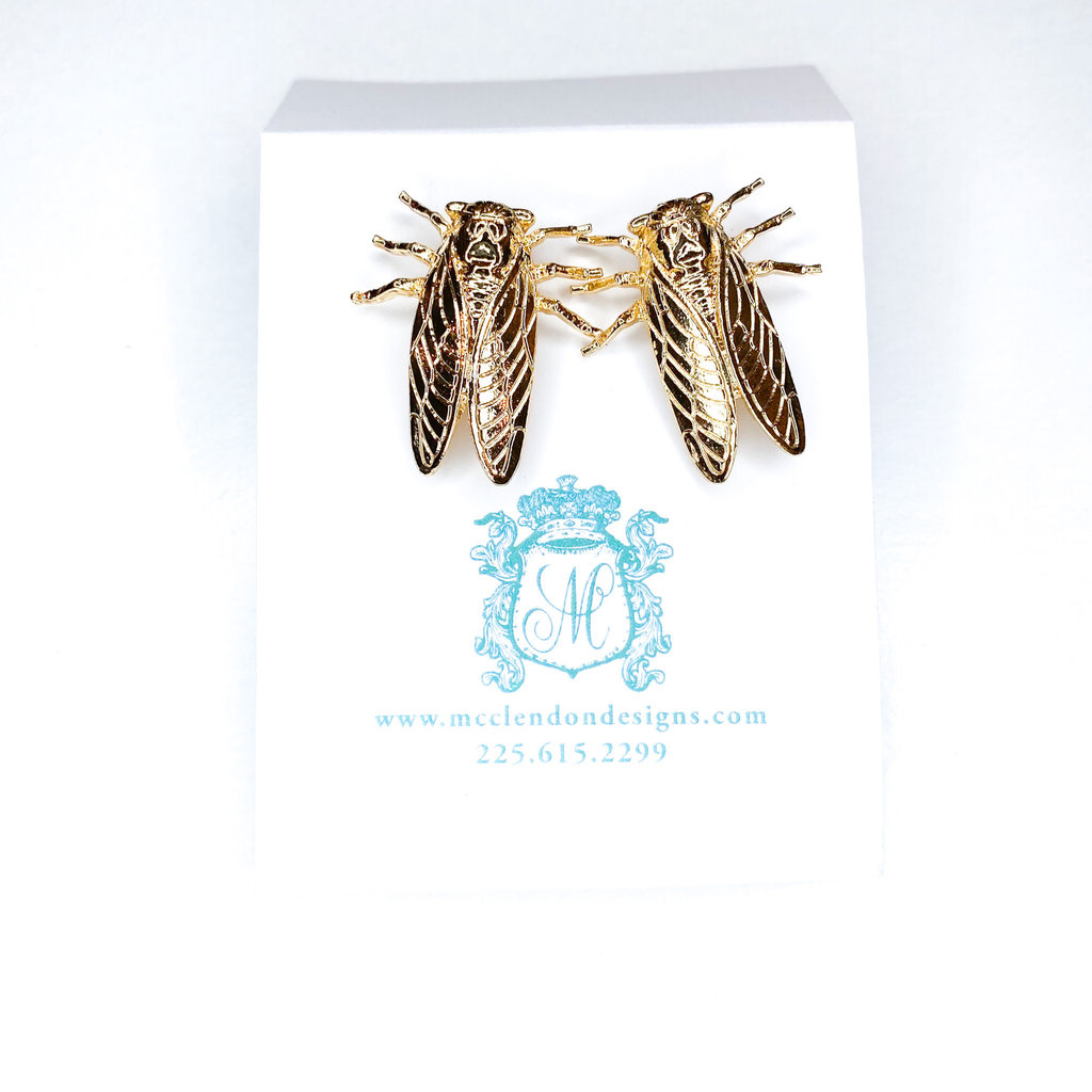 Laura McClendon Cicada Earring