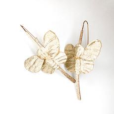 Laura McClendon Butterfly Earring Metallic/Gold