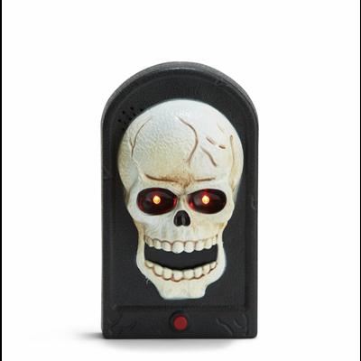 Two's Company Skeleton Door Bell Knocker