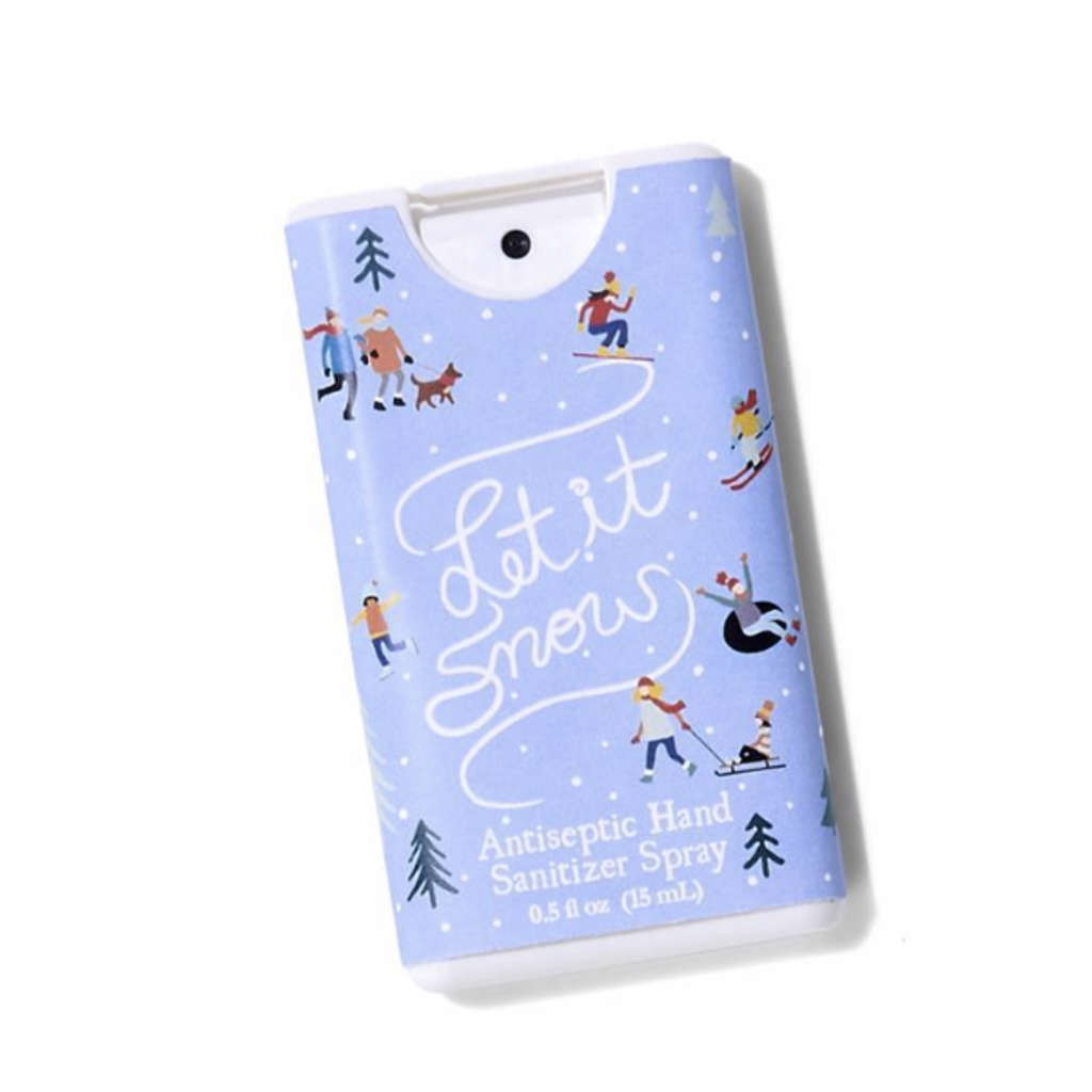 Two's Company Holiday Edition Hand Sanitizer- Let it Snow