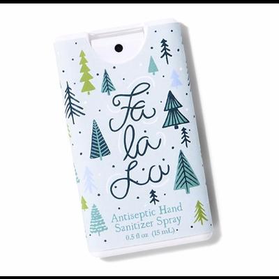 Two's Company Holiday Edition Hand Sanitizer- Fa la la