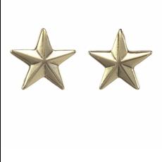 Tova Antique Gold plated metal mini star stud earring