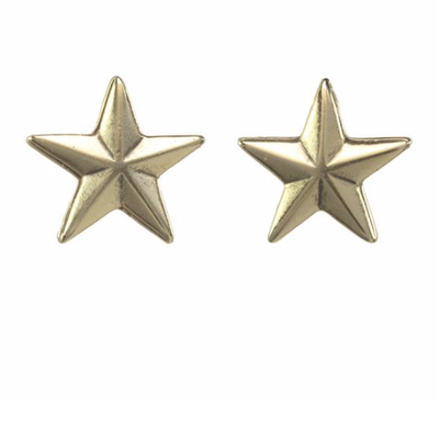 Tova Antique Gold plated metal mini star stud earring