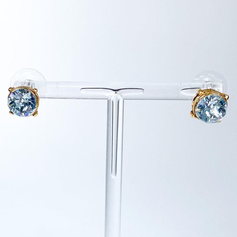 Tova Gold Plated Swarovski Crystal Studs