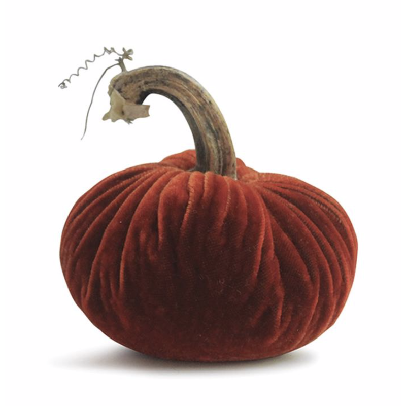 Plush Pumpkin Plush Pumpkins- Bittersweet 6''