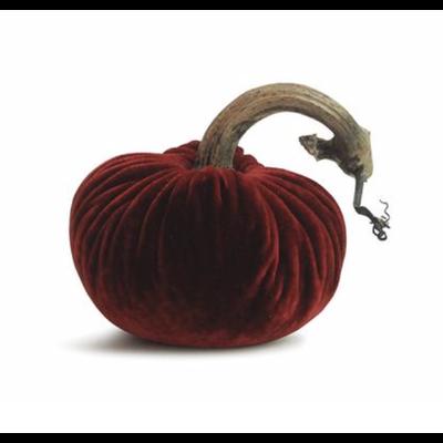 Plush Pumpkin Plush Pumpkins- Cherry 6''