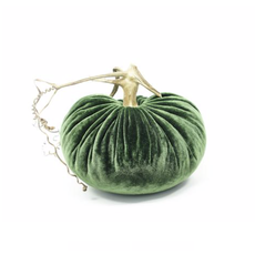 Plush Pumpkin Plush Pumpkins- Emerald Green 4''