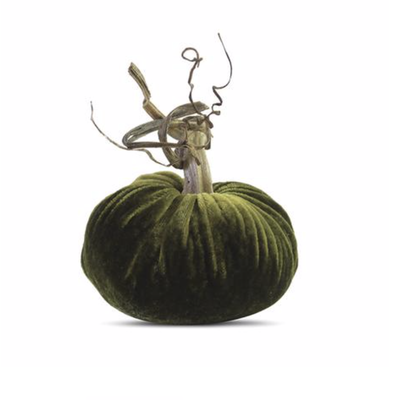 Plush Pumpkin Plush Pumpkins- Sage 10''