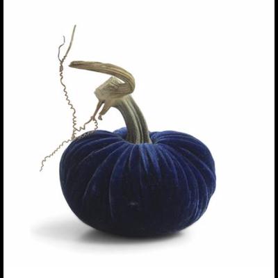 Plush Pumpkin Plush Pumpkins- Sapphire 4''