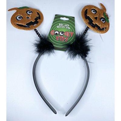 d&d distributing Googly Eyes Halloween Head Boppers- pumpkin