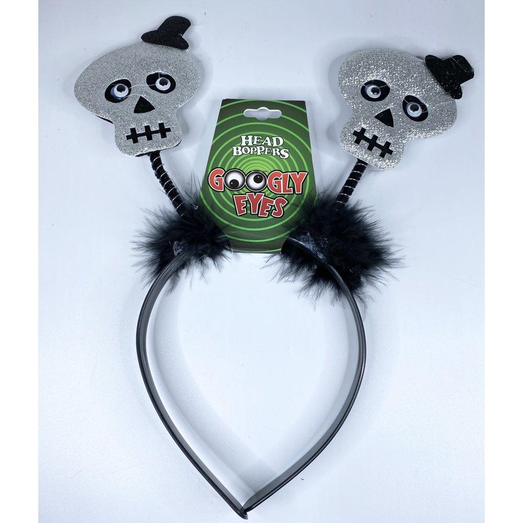 d&d distributing Googly Eyes Halloween Head Boppers- skeleton