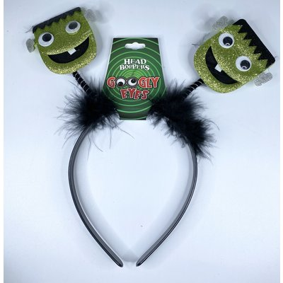 d&d distributing Googly Eyes Halloween Head Boppers- Frankenstein
