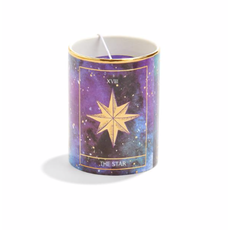 Two's Company Tarot Scented Candle with Charm