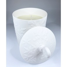 Two's Company Tis the Season White Soy Wax Candle