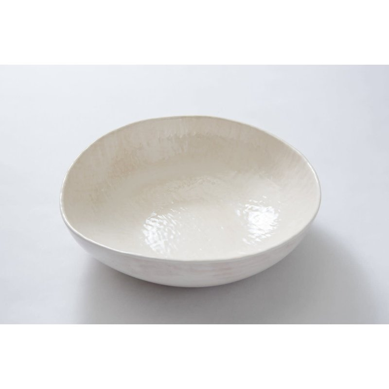 Relish Weave Serving Bowl Cream