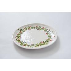 Relish Christmas Dinner Plate