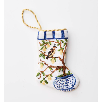 Bauble Stocking Bauble Stocking Partridge in a Pear Tree