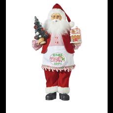 Raz 19'' Kringle Candy Santa with Apron