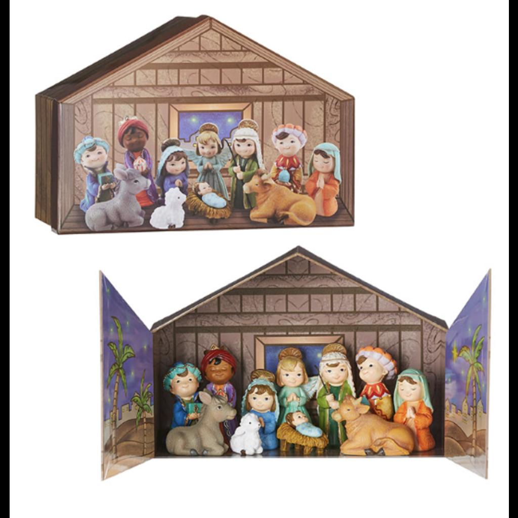 Raz Children's Nativity