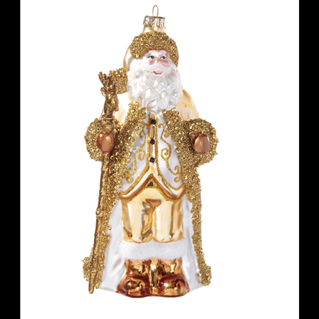 Raz 7.5'' Santa Ornament