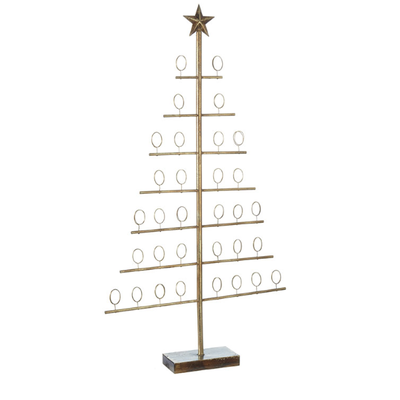 Raz 40'' Tree Christmas Card Holder