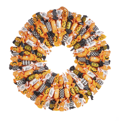 Raz 20'' Halloween Candy Wreath