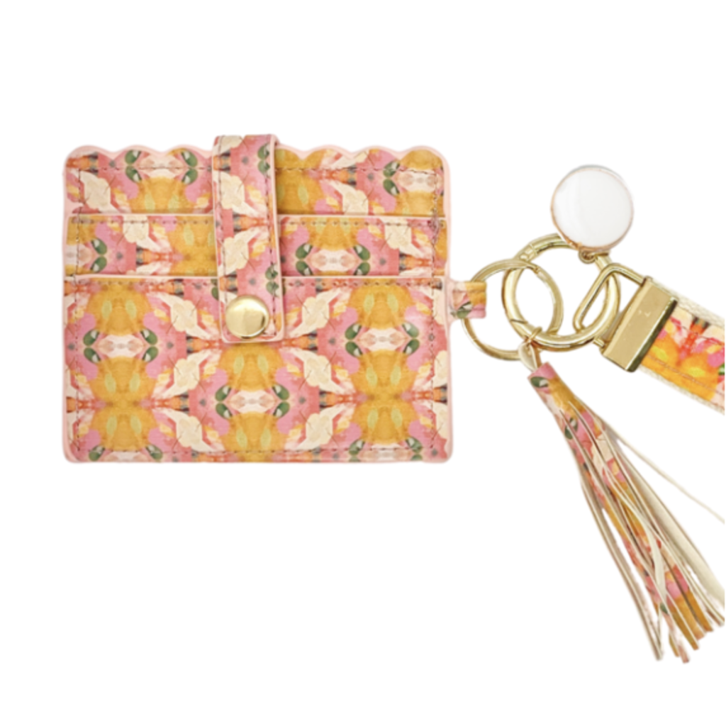 Laura Park Laura Park Flower Child Marigold Wristlet Wallet