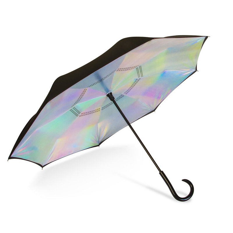 ShedRain UnbelievaBrella Iridescent Stick Umbrella