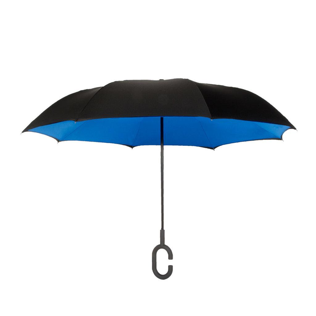 ShedRain UnbelievaBrella Black/Ocean Umbrella