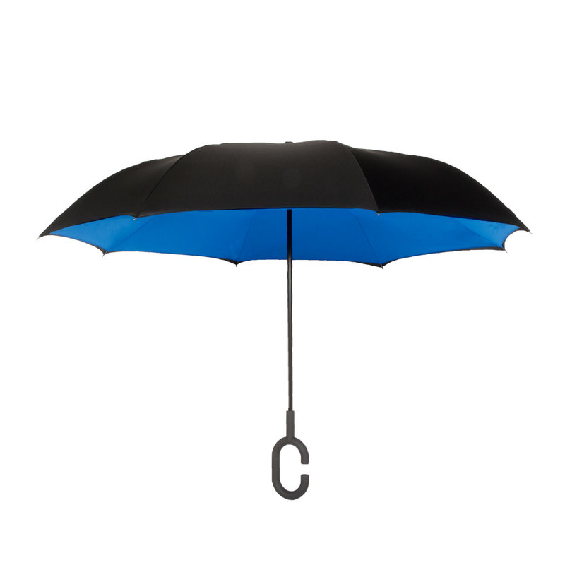 ShedRain UnbelievaBrella Black/Ocean Umbrella