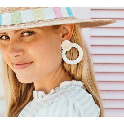 Sunshine Tienda Double Circle Earrings
