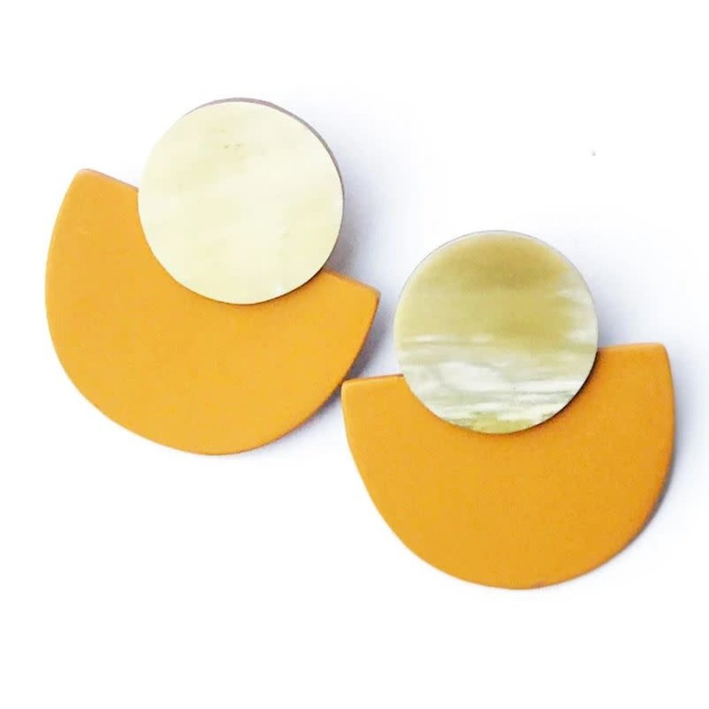 Sunshine Tienda Saffron Bella Earrings