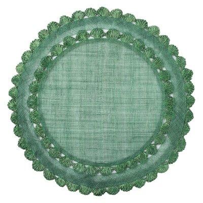 "Juliska Isadora Evergreen Placemat 15""W"