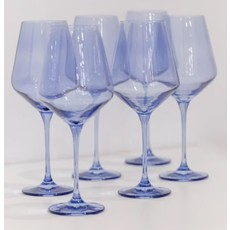 Estelle Estelle Colored Wine Stemware - Set of 6