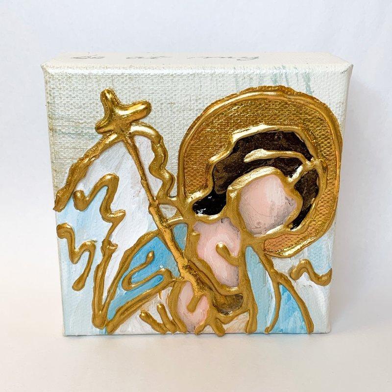 Karen Van Zandt Art 4 x 4 Mini Angels
