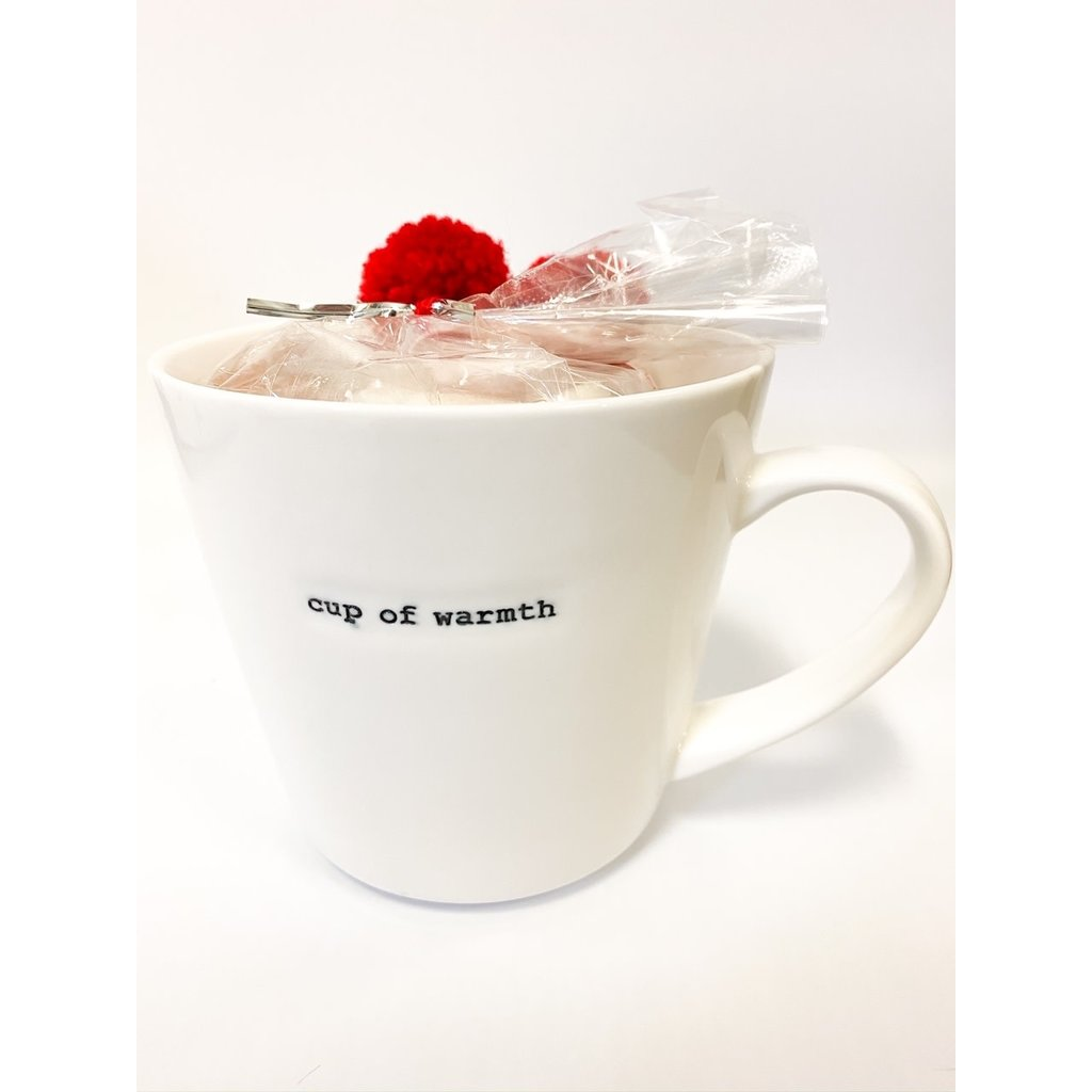 Two's Company Mug with Star Marshmallows- cup of warmth