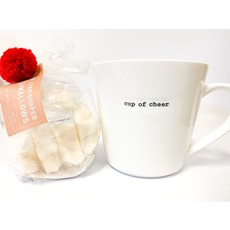 Two's Company Mug with Star Marshmallows- cup of cheer