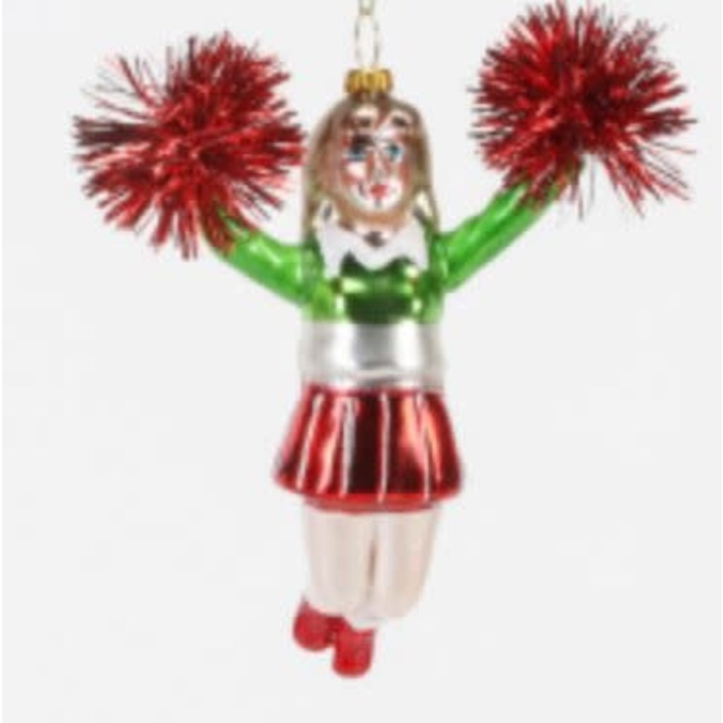 One Hundred 80 Degrees Cheerleader Ornament