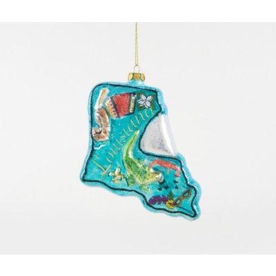 One Hundred 80 Degrees Louisiana Ornament