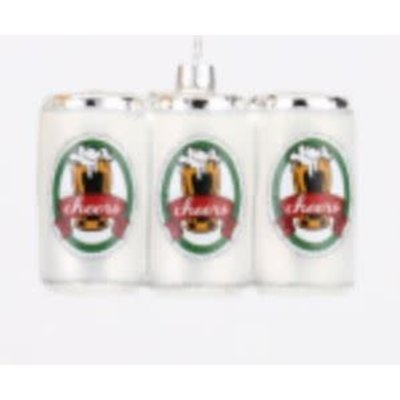 One Hundred 80 Degrees Six Pack Ornament