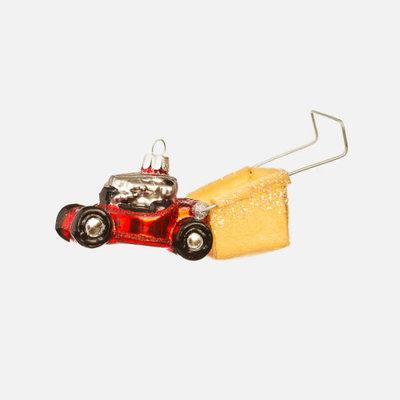 One Hundred 80 Degrees Lawnmower Ornament