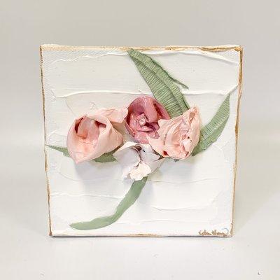 Eden Gorney Forever Flowers 6 x 6 Pink