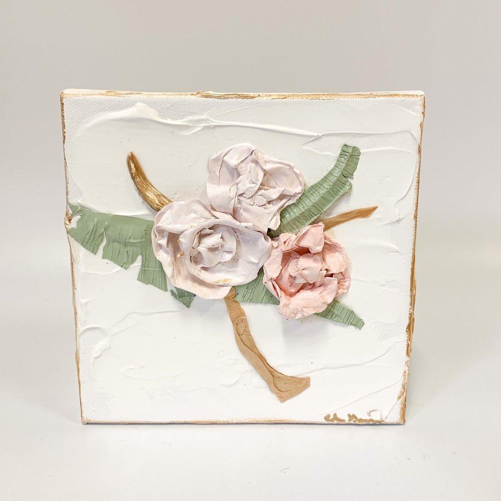 Eden Gorney Forever Flowers 6 x 6 Light Pink
