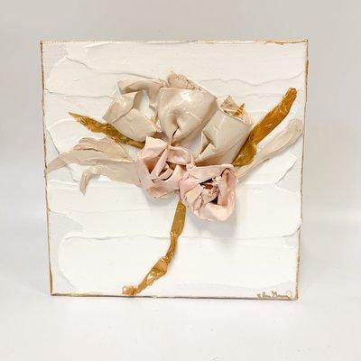Eden Gorney Forever Flowers 8 x 8  Pink 2